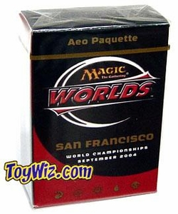 Magic The Gathering 2004 World Championship San Francisco Deck Finalist Aeo Paquette