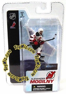 McFarlane Toys NHL 3 Inch Sports Picks Series 3 Mini Figure Alexander Mogilny (New Jersey Devils)