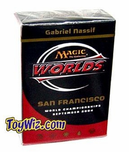 Magic The Gathering 2004 World Championship San Francisco Deck Quarterfinalist Gabriel Nassif