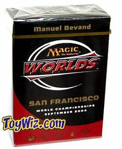 Magic The Gathering 2004 World Championship San Francisco Deck Semifinalist Manuel Bevand
