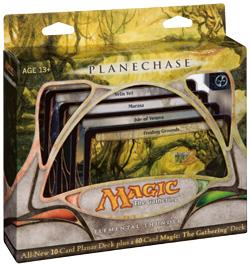 Magic the Gathering Card Game Planechase Theme Deck Elemental Thunder