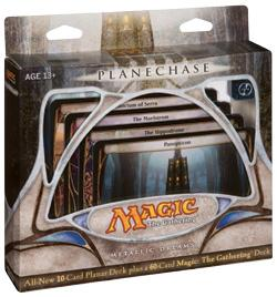 Magic the Gathering Card Game Planechase Theme Deck Metallic Dreams