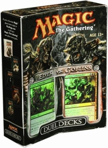 Magic the Gathering Duel Decks Elves vs. Goblins