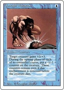 Magic the Gathering Revised Edition Single Card Common Unstable Mutation