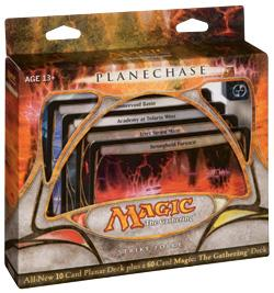 Magic the Gathering Card Game Planechase Theme Deck Strike Force