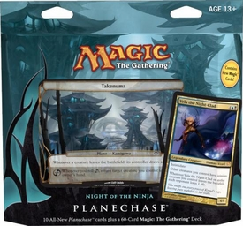 Magic the Gathering Planechase 2012 Deck Night of the Ninja
