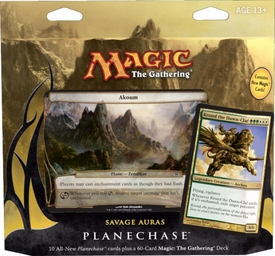 Magic the Gathering Planechase 2012 Deck Savage Auras