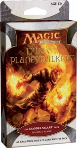 Magic the Gathering Duels of the Planeswalkers Hands of Flame Chandra Nalaar Deck