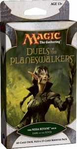 Magic the Gathering Duels of the Planeswalkers Ears of the Elves Nissa Revane Deck