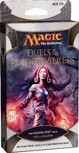 Magic the Gathering Duels of the Planeswalkers Eyes of Shadow Liliana Vess Deck