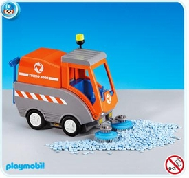 Playmobil Construction Set #7513 Road Sweeper