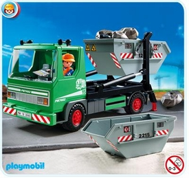 Playmobil Construction Limited Edition Set #3318 Skip Truck