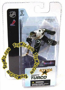 McFarlane Toys NHL 3 Inch Sports Picks Series 3 Mini Figure Marty Turco (Dallas Stars)