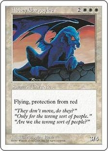 Magic the Gathering Fifth Edition Single Card Uncommon Abbey Gargoyles