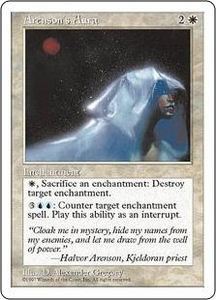 Magic the Gathering Fifth Edition Single Card Uncommon Arenson's Aura