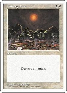 Magic the Gathering Fifth Edition Single Card Rare Armageddon