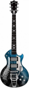 Paper Jamz Instant Rock Star Pro Series Guitar [Blue Design]