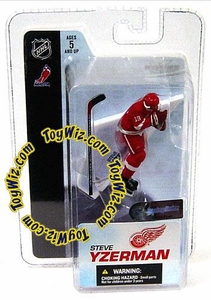 McFarlane Toys NHL 3 Inch Sports Picks Series 3 Mini Figure Steve Yzerman (Detroit Red Wings)