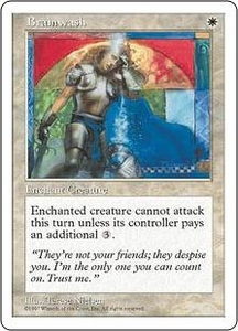 Magic the Gathering Fifth Edition Single Card Common Brainwash