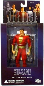 DC Direct Justice League Alex Ross Series 4 Action Figure Shazam!