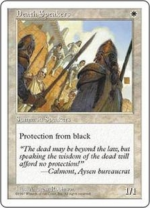 Magic the Gathering Fifth Edition Single Card Common Death Speakers