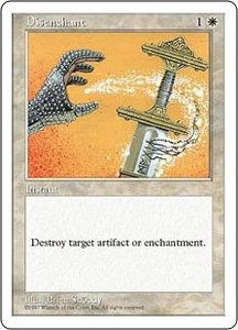 Magic the Gathering Fifth Edition Single Card Common Disenchant