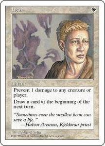 Magic the Gathering Fifth Edition Single Card Common Heal