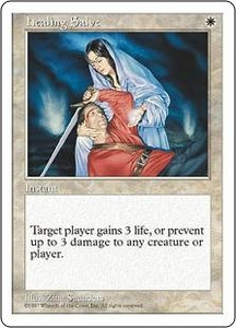 Magic the Gathering Fifth Edition Single Card Common Healing Salve