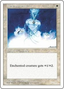 Magic the Gathering Fifth Edition Single Card Common Holy Strength