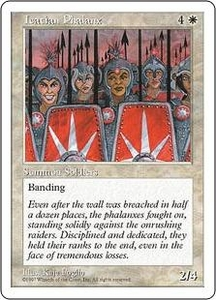 Magic the Gathering Fifth Edition Single Card Uncommon Icatian Phalanx