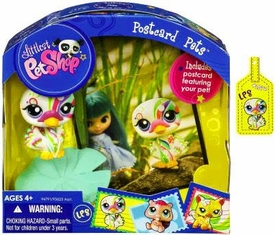 Littlest Pet Shop Series 6 Postcard Pets Swan