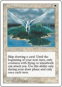 Magic the Gathering Fifth Edition Single Card Rare Island Sanctuary