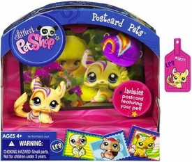 Littlest Pet Shop Series 6 Postcard Pets Chinchilla