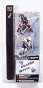 McFarlane Toys NHL 3 Inch Sports Picks Series 2 Mini Figure 2-Pack Mark Messier (New York Rangers) & Ryan Smyth (Edmonton Oilers)