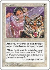 Magic the Gathering Fifth Edition Single Card Uncommon Kismet