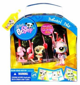Littlest Pet Shop Series 5 Postcard Pets Flamingo