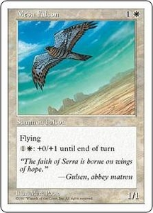 Magic the Gathering Fifth Edition Single Card Common Mesa Falcon