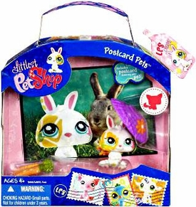 Littlest Pet Shop Series 3 Postcard Pets Bunny