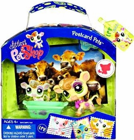 Littlest Pet Shop Series 3 Postcard Pets Cow