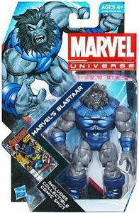 Marvel Universe 3 3/4 Inch Series 20 Action Figure #24 Blastaar [Solid Color Arms!]