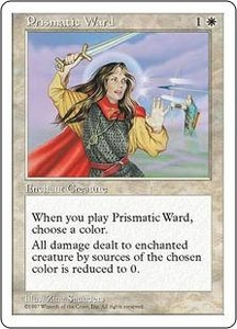 Magic the Gathering Fifth Edition Single Card Common Prismatic Ward