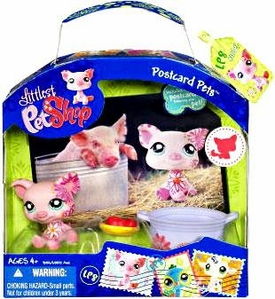 Littlest Pet Shop Series 3 Postcard Pets Pig