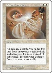 Magic the Gathering Fifth Edition Single Card Rare Reverse Damage