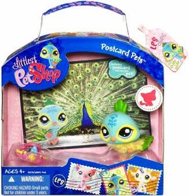Littlest Pet Shop Series 3 Postcard Pets Peacock