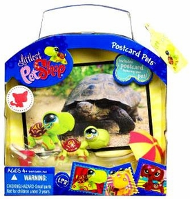 Littlest Pet Shop Series 2 Postcard Pets Turtle