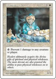 Magic the Gathering Fifth Edition Single Card Common Samite Healer