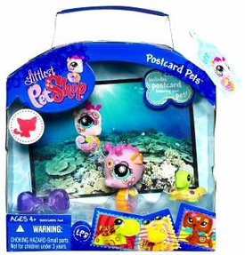 Littlest Pet Shop Series 2 Postcard Pets Seahorse