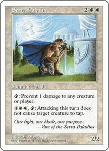 Magic the Gathering Fifth Edition Single Card Uncommon Serra Paladin