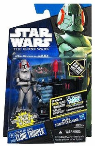 Star Wars 2011 Clone Wars Action Figure CW No. 57 Stealth Ops Clone Trooper