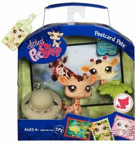 Littlest Pet Shop Series 1 Postcard Pets Giraffe